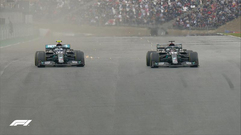 El momento en el que Hamilton ha recuperado el liderato del GP de Portugal