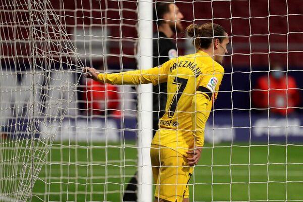 Griezmann tuvo la ocasión más clara del Barça hasta ahora FOTO: EFE
