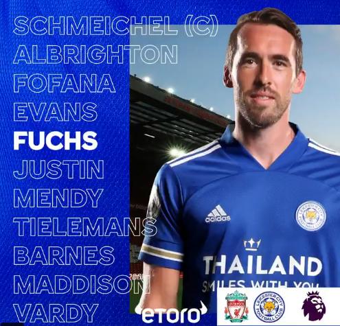 XI Titular del Leicester