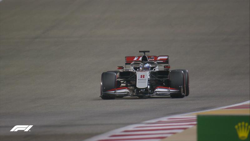 El Haas de Grosjean, fuera de la Q2