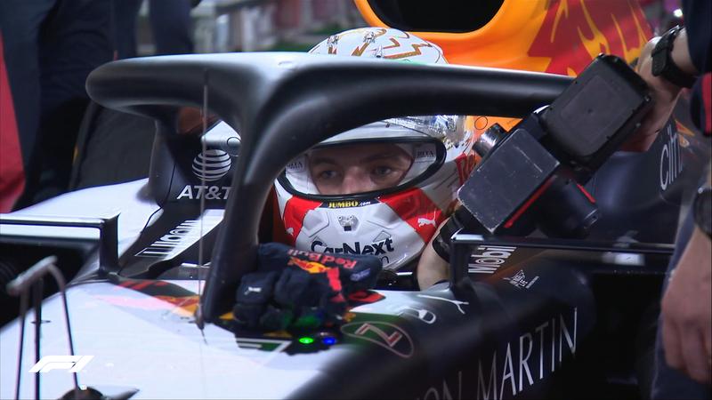 Verstappen, concentrado. En 1 minuto volvemos a tener una nueva vuelta de formación.
