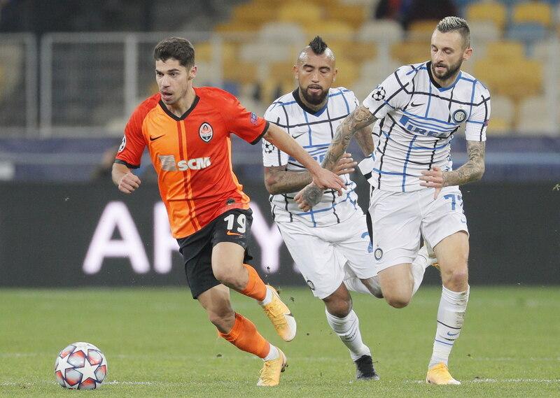 Shakhtar Donetsk - Inter de Milán