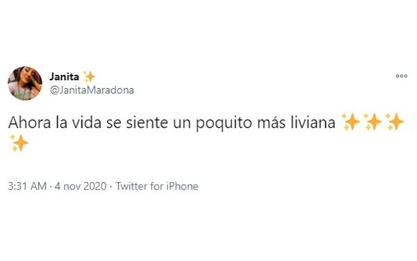 """È passata la paura per i familiari del Diez: """"Ora la vita mi sembra un po' più leggera"""", il post su Twitter della figlia Janita"""