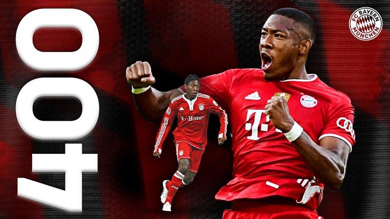 Alaba cumple hoy 400 partidos con el Bayern. (FOTO: @FCBayernES)