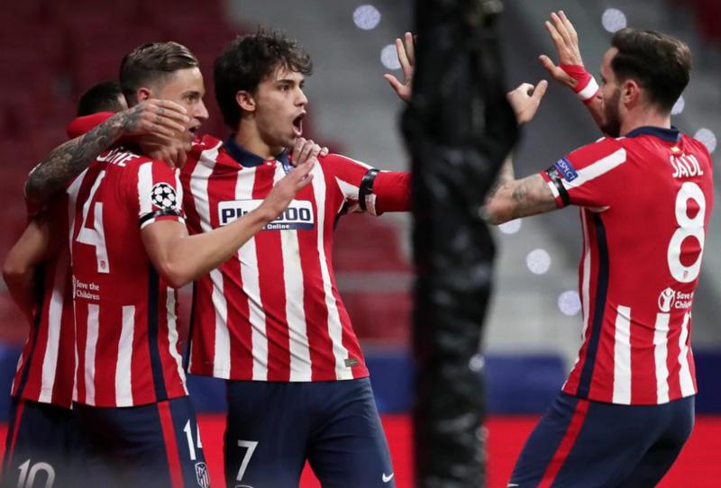 João Félix: 8 goles y 3 asistencias en 14 partidos con el Atlético en esta temporada.  Llorente: 4 goles y 3 asistencias en 14 partidos con el Atlético en esta temporada.