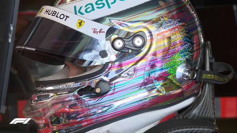 ¿Qué os parece el casco de Vettel?