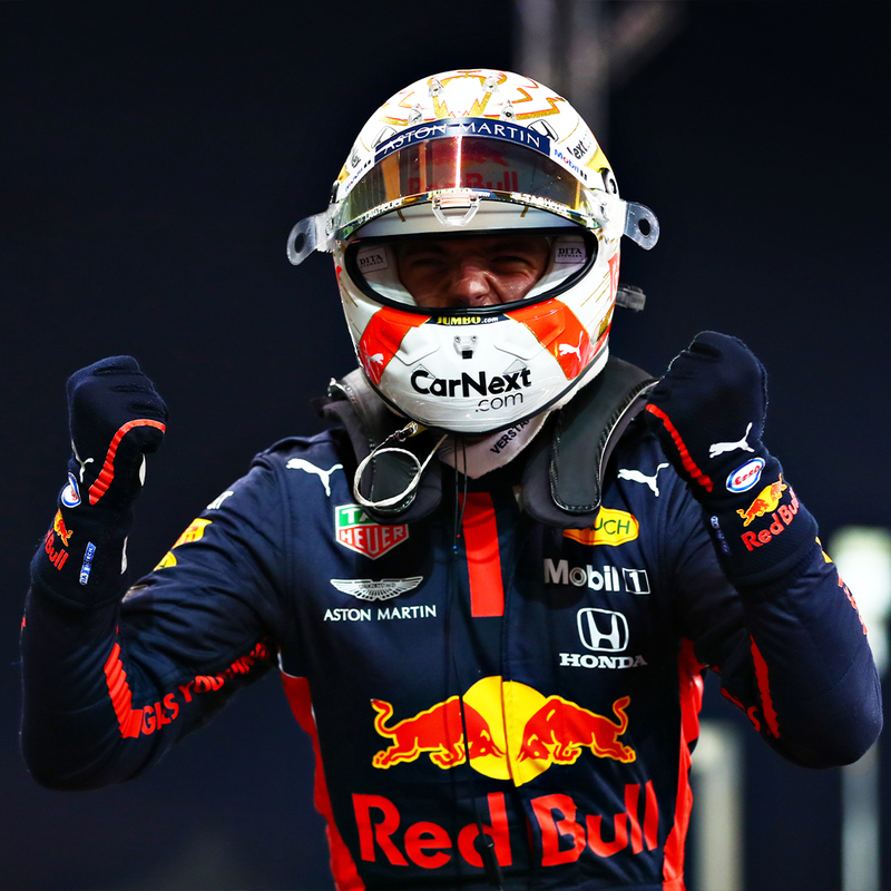 Max Verstappen, el último poleman de la temporada 2020 de Fórmula 1 (@RedBullRacing)