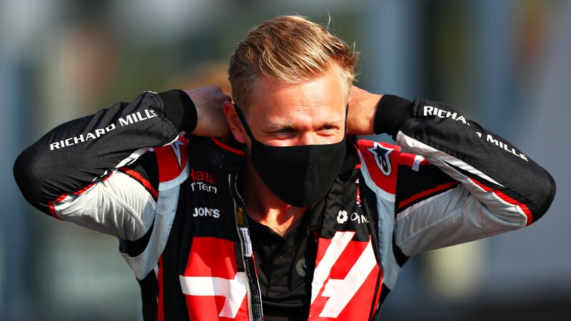 Kevin Magnussen se prepara para correr su última carrera con Haas y, probablemente, su última carrera en la Fórmula 1. El danés sale hoy decimoséptimo. (@F1)