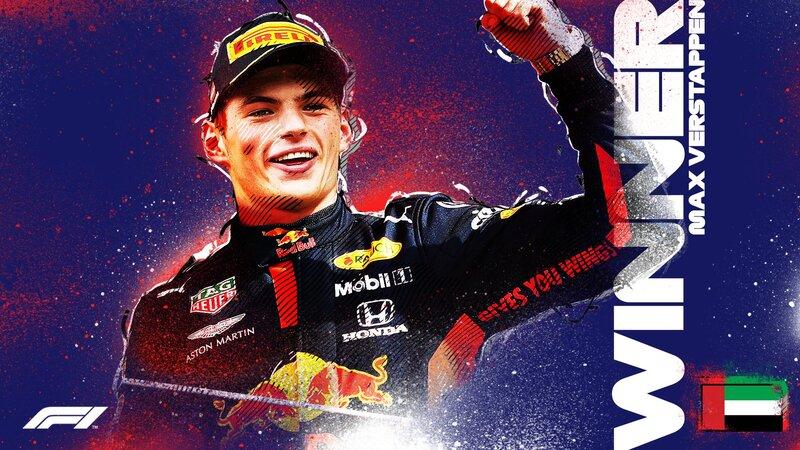 ¡Vuestro último ganador del año! Max Verstappen se lleva el GP de Abu Dhabi