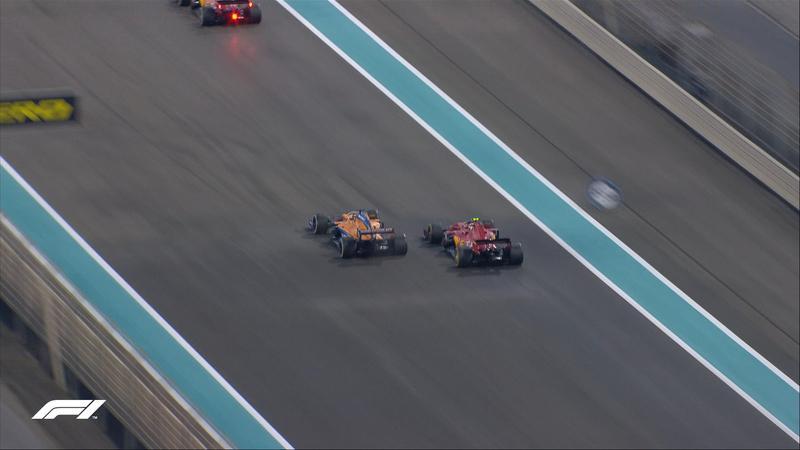 Sainz, ya por delante de los dos Ferrari