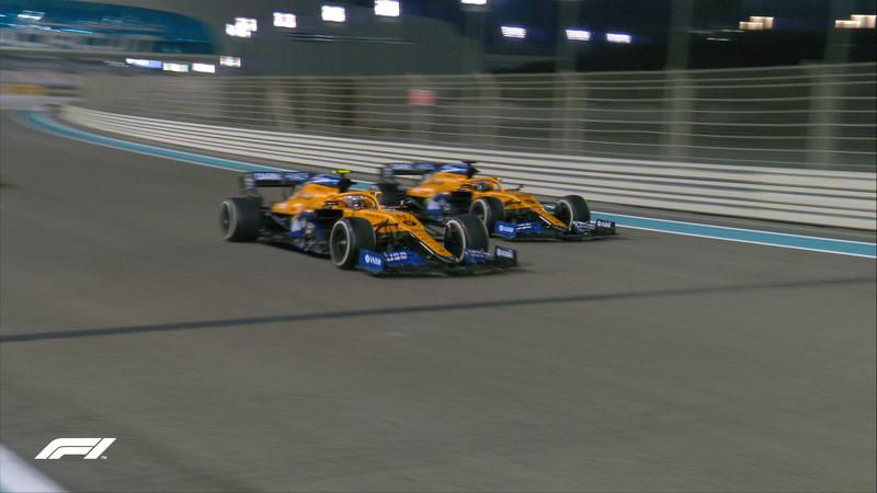 Formaban Norris y Sainz al término del Gran Premio. Es día grande en McLaren, que se llevan el tercer puesto del Mundial de Equipos. En cambio, decepción en el box de Racing Point, donde hoy han tenido un día para olvidar.