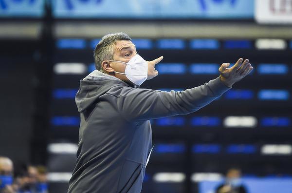 Xavi Pascual, técnico del Barça (Pere Puntí/MD)