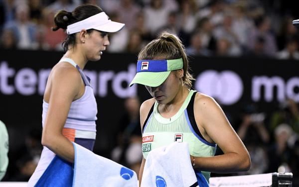 Final Australian Open 2020 bajo techo. Llueve en Melbourne FOTO: AP