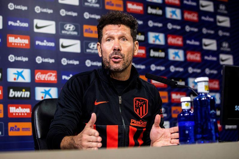 El Cholo Simeone, entrenador del Atlético de Madrid