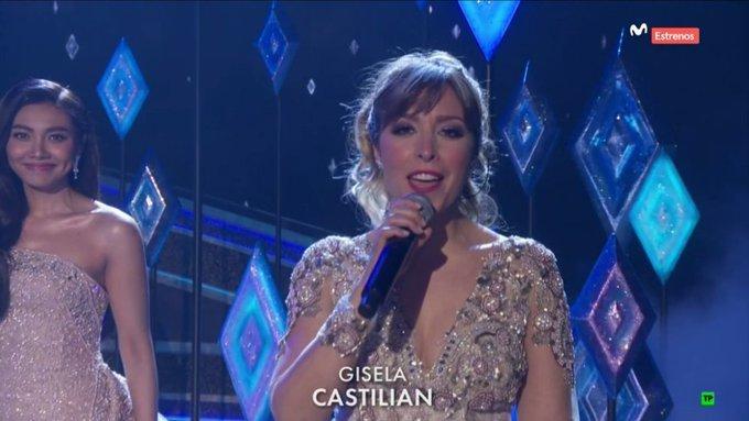 Así ha lucido Gisela en los Oscar