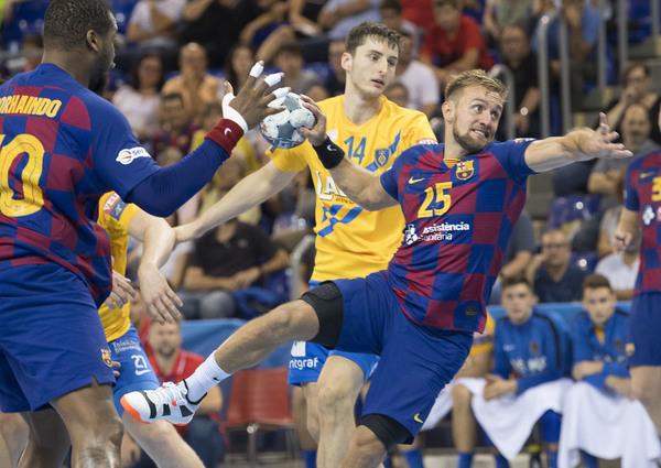 Vuelve Luka Cindric, que llegó lesionado del Europeo de selecciones FOTO: PERE PUNTÍ
