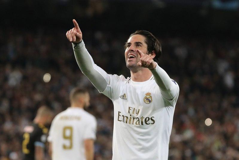 Isco, autor del gol del Real Madrid