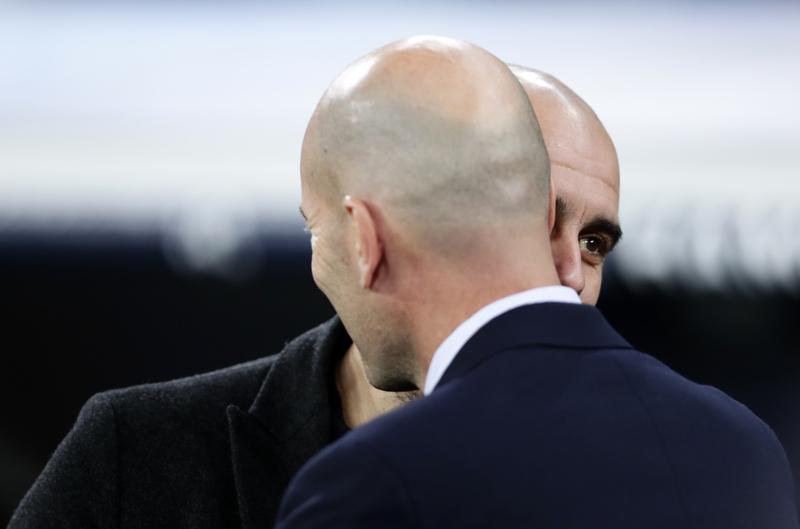 Pep Guardiola y Zidane