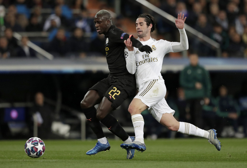 Imagen del Real Madrid - Manchester City de la Champions League