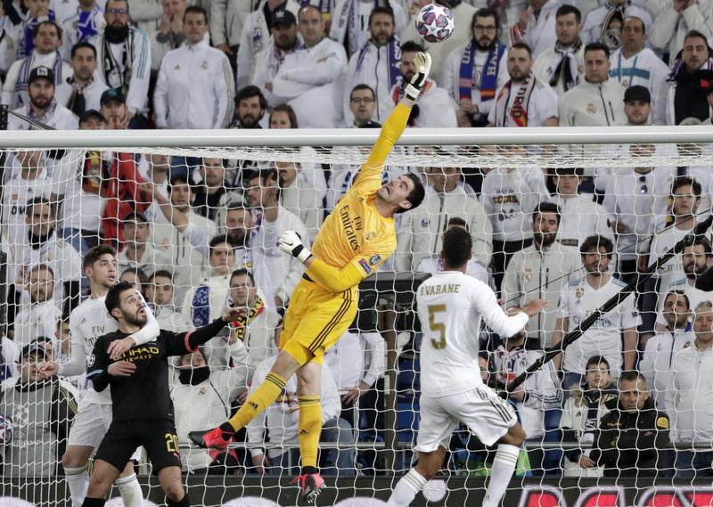Imagen del Real Madrid - Manchester City