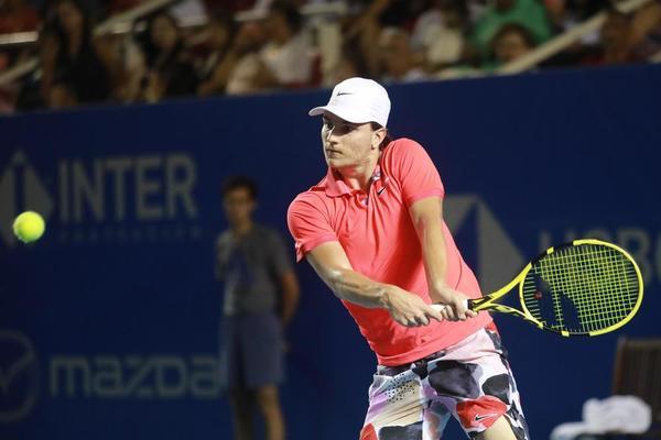 Miomir Kecmanovic, rival de Rafa Nadal FOTO: EFE