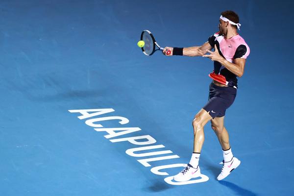 Grigor Dimitrov ya espera en semifinales a Rafa Nadal o Soonwoon Kwon FOTO: GETTY