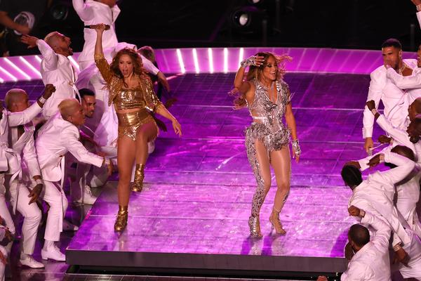 Jennifer Lopez e Shakira (Getty)