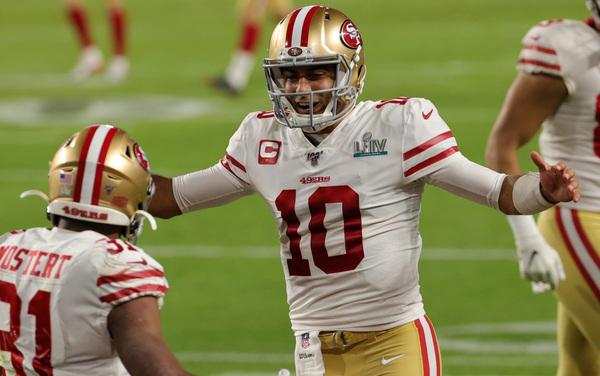 Il touchdown dei 49ers (Getty)