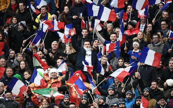 Lo spettacolo dello Stade de France (Getty)