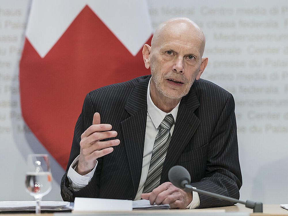 Preschte auf Radio SRF vor: Daniel Koch verkündete die neuen Massnahmen.