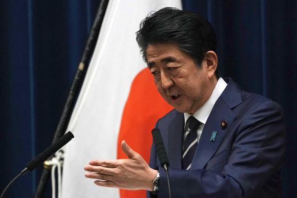 Image result for Shinzo Abe +ABC