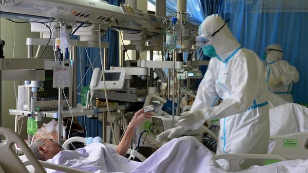 Hospitales desbordados