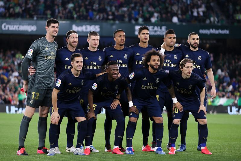 El once titular del Real Madrid hoy en Sevilla