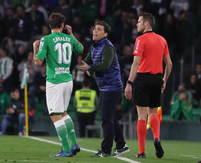 Rubi, entrenador del Real Betis