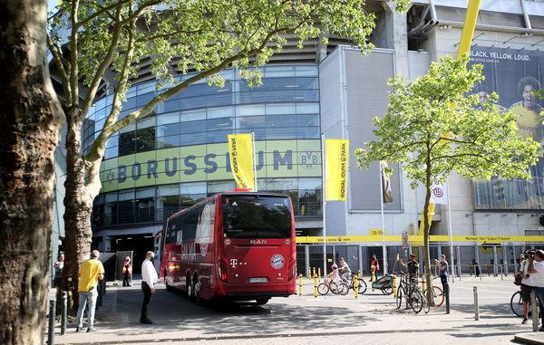 Así ha llegado el Bayern de Múnich al Signal Iduna Park