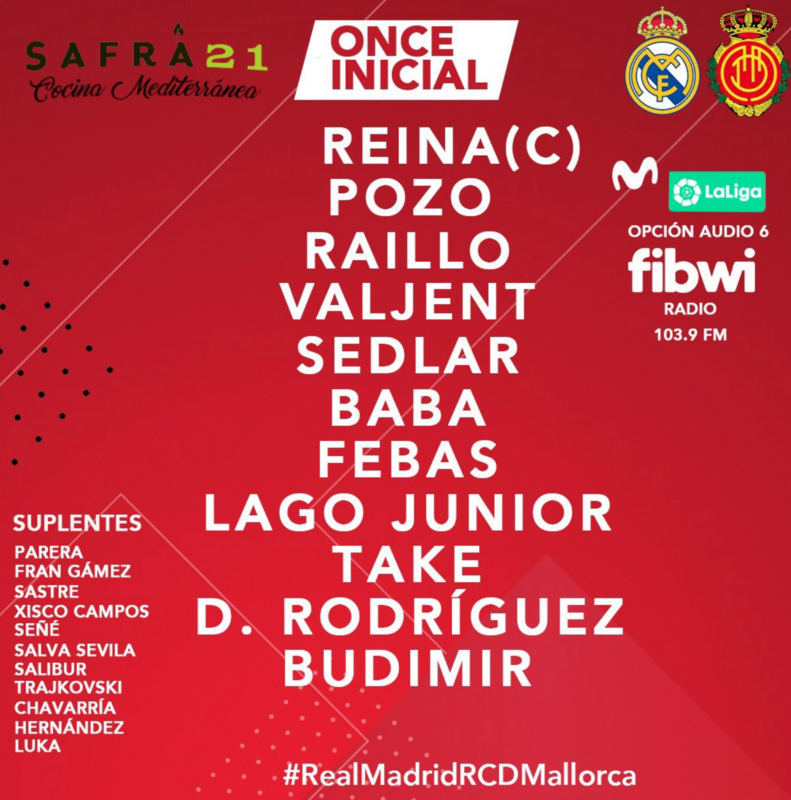 XI Titular del RCD Mallorca