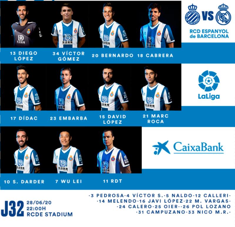 XI Titular del Espanyol