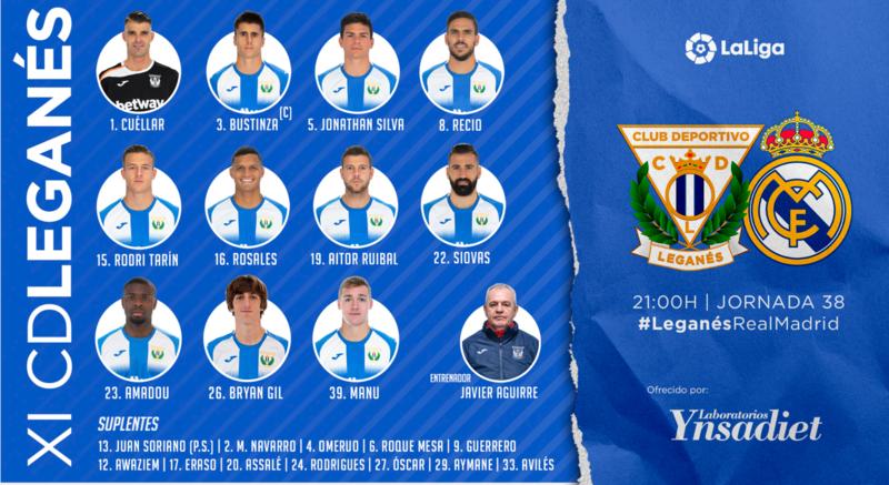 XI Titular del CD Leganés