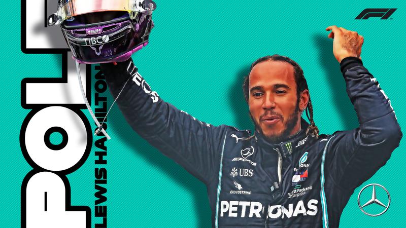 Pole para LEWIS HAMILTON en el Gran Premio de Gran Bretaña de F1 2020