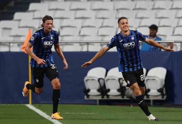 Pasalic puso por delante al Atalanta con un golazo