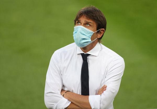 Antonio Conte, en los prolegómenos de la final.