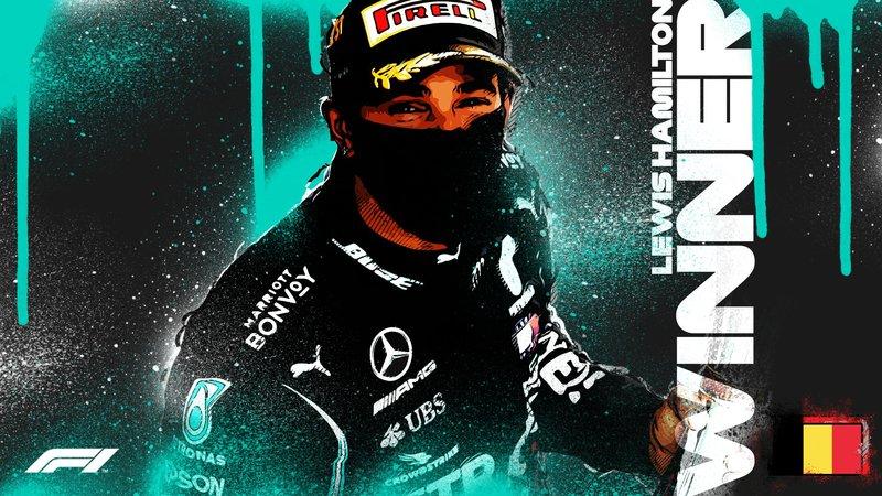 Es la victoria número 89 en la carrera de Lewis Hamilton