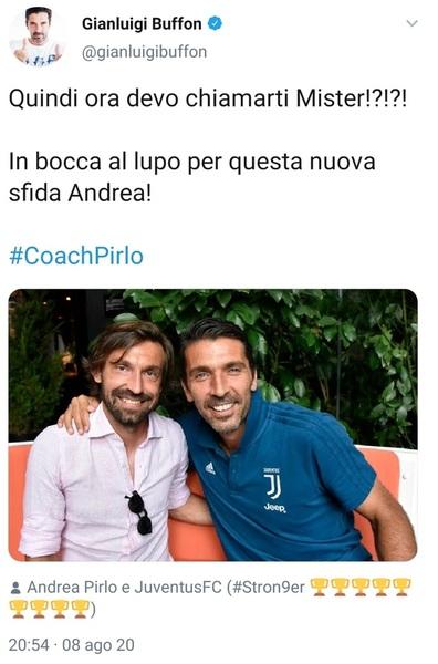 Juve Pirlo Nuovo Allenatore Le News Dopo L Esonero Di Sarri Sky Sport