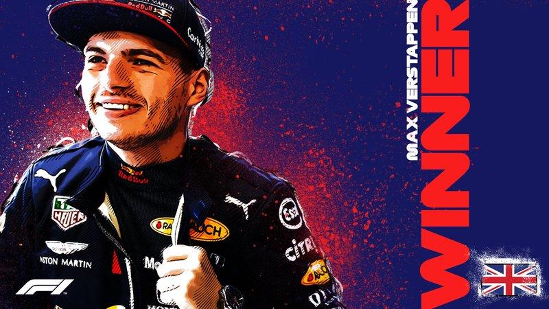 El Campeón de hoy: Max Verstappen. (@F1)
