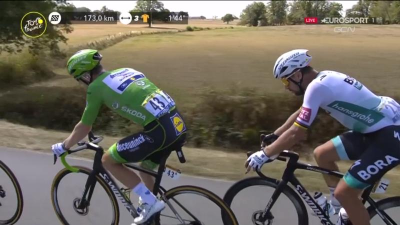 BENNETT Y SAGAN, uno de los grandes duelos de este Tour de Francia 2020
