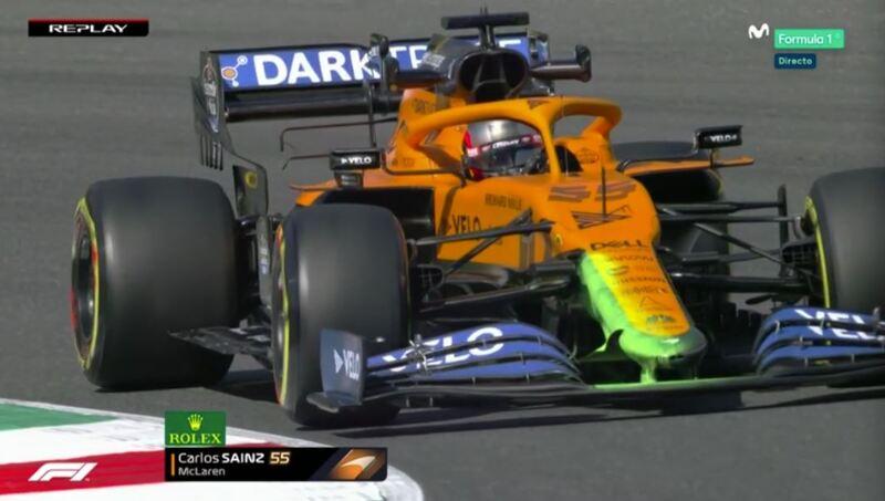 El nuevo morro del McLaren