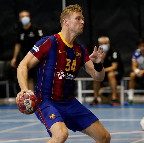 Aron Palmarsson, una de las estrellas del Barça (Pep Morata/MD)