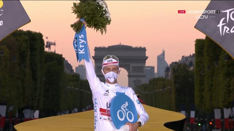 TADEJ POGACAR, mejor joven del Tour de Francia 2020