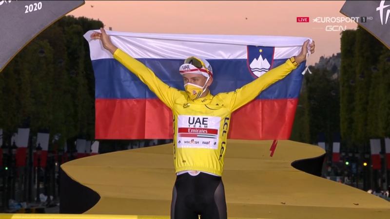 TADEJ POGACAR, ganador del Tour de Francia 2020