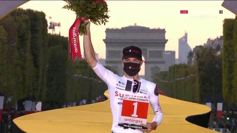 MARC HIRSCHI, ciclista súper combativo del Tour de Francia 2020
